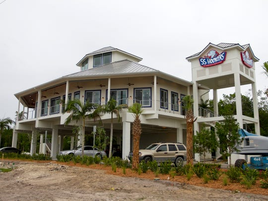 The south Fort Myers building that once housed SS Hookers