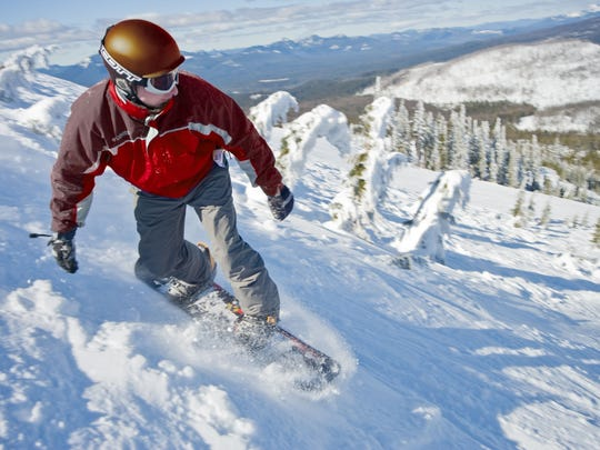 Local ski swaps are a good way to get gear for a season at Hoodoo Mountain Resort, the closest ski area to Salem.