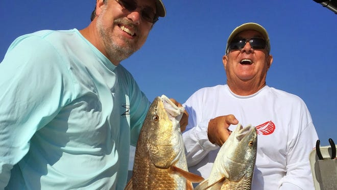 Hundreds of trout plus redfish and flounder were caught this week.