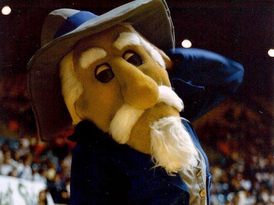 Former Ole Miss mascot Colonel Reb