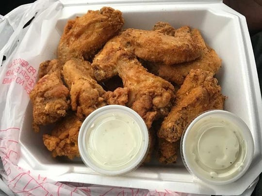 Chicken Shack Express serves up Spicy Mama, Smack Yo Mama and Death Row Hot, as well as the popular lemon pepper flavor.