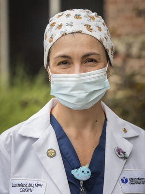 Dr. Luu Ireland of UMass Medical Center posted a tweet on the importance of mask wearing that went viral.
