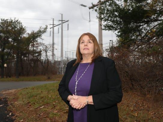 Theresa Knickerbocker, the mayor of the Village of