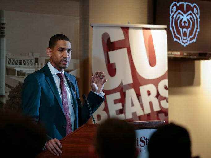 Missouri State introduced Dana Ford as the new men's