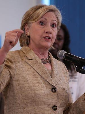 Hillary Clinton, candidata demócrata a la presidencia de EU.