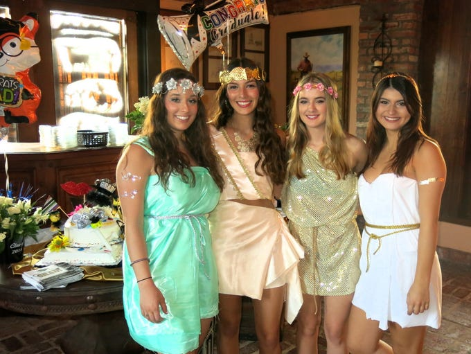 Nikki Biernacki's Toga-Graduation Party was May 14,
