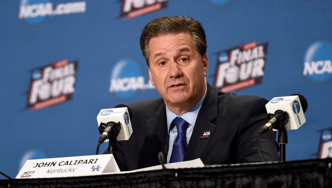 John Calipari and Kentucky are working on a contract extension through 2022.