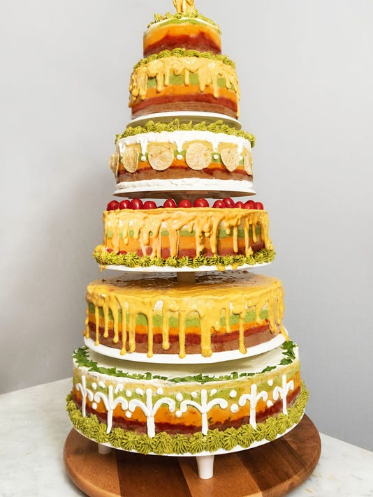 Tostitos Wedding Cake