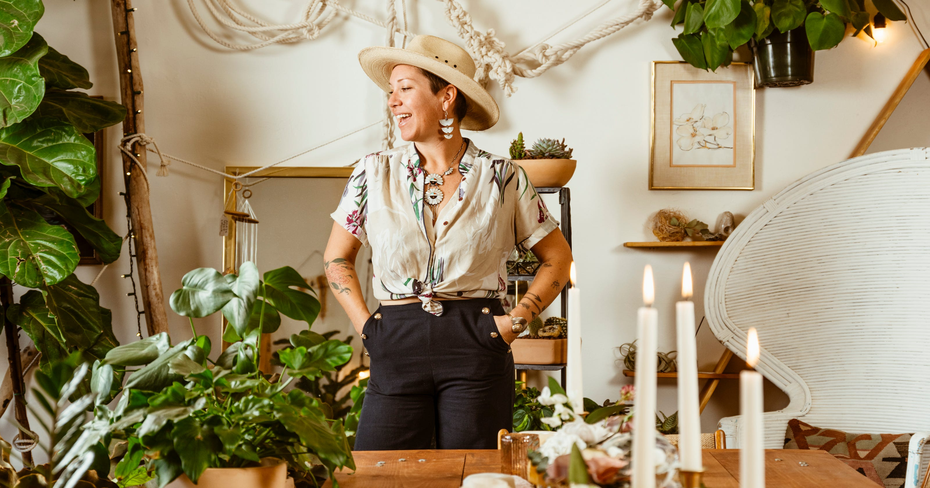 Wedding Floral Designer The Bloomin Gypsy Opens Shop In Yucca Valley