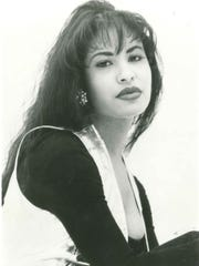Selena Quintanilla-Perez in a publicity photo received in 1994.