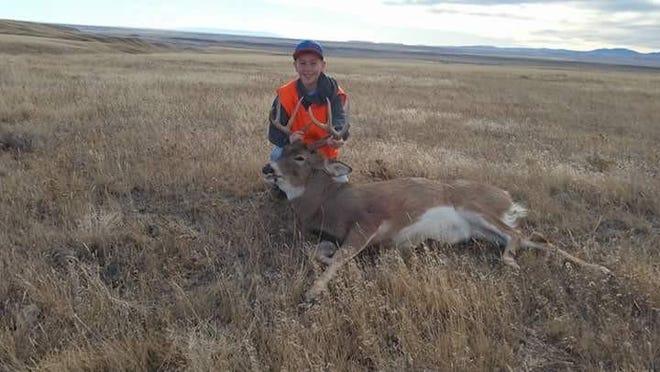 Gavin Grosenick shot this white-tailed deer on Nov. 15.