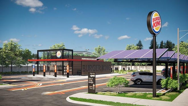 """If approved by Burger King owner Restaurant Brands International, the new restaurants would be among the first in West Michigan to deliver Burger King's """"restaurant of tomorrow"""" vision, which includes a smaller building footprint with a stronger focus on the drive-thru, curbside pickup and delivery experience."""