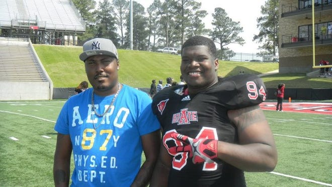 Johnny Shivers and his stepson, Liberty Tech grad and Arkansas State football player Markel Owens, were killed in January.