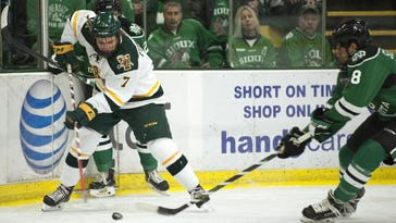 With matching records, UVM, Northeastern square off