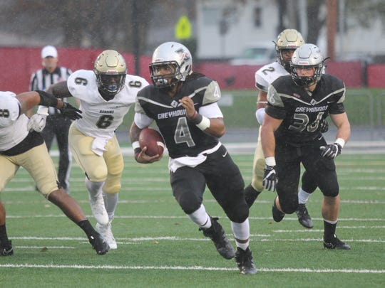 Al McKeller scored twice for UIndy in the Greyhounds'