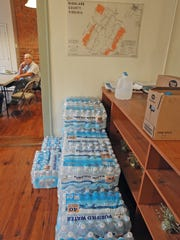 A disaster relief organization in West Virginia donated