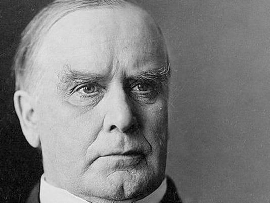 William McKinley grumpy art