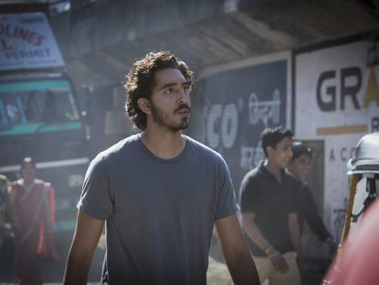 "Dev Patel in ""Lion."""