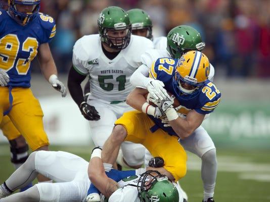 NCAA, football, men, Montana St, North Dakota, Gunnar Brekke