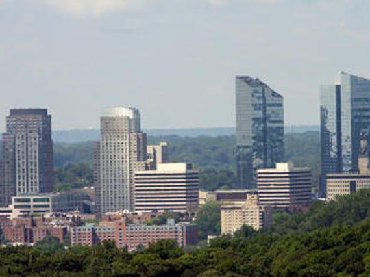 White Plains skyline