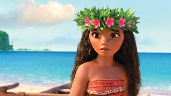 """The title character is """"Moana"""" is a 16-year-old girl who lives in Polynesia."""