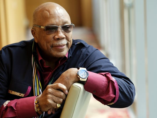 Music producer Quincy Jones has recorded 2,900 songs,