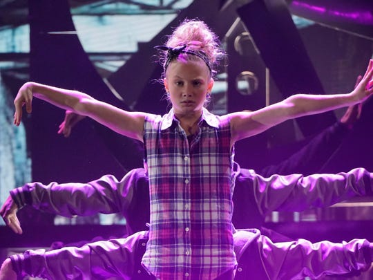 "From 2017: Maesi Caes, 13, of Altoona in her hip hop dance performance on NBC show ""Little Big Shots"" with Steve Harvey."