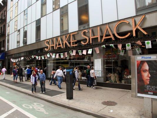 AP SHAKE SHACK-IPO A F FILE USA NY