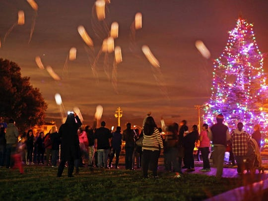 """The """"Christmas in the Park"""" tree lighting and camera vigil will be on Dec. 3 in Closter Park."""