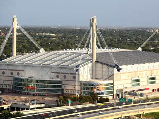 General Views of the Alamodome