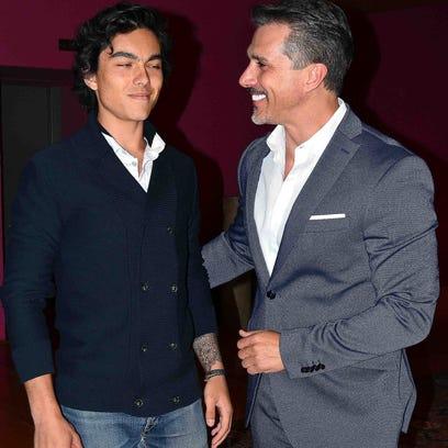 Sergio Mayer se reconcilia con su hijo