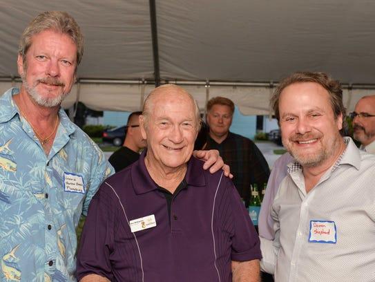 Lonnie Culbertson, left, Ken DeAngelis and Darren Shephard.
