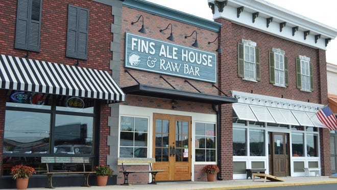 Fins Ale House and Raw Bar opened in 2013 and recently expanded with an in-house brewery.
