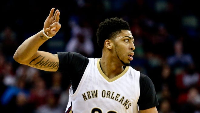 Anthony Davis scored a team-high 30 points for the Pelicans.