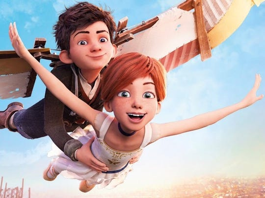 "Dane DeHaan and Elle Fanning are voices in ""Leap!"""