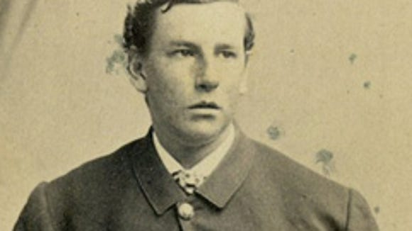 Charles Appleton Longfellow, son of Henry Wadsworth Longfellow, was wounded in the Civil War. His wound helped inspire the poem: 'I Heard the Bells on Christmas Day.'