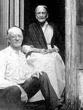 Edgar Goodno and his mother, Caroline.