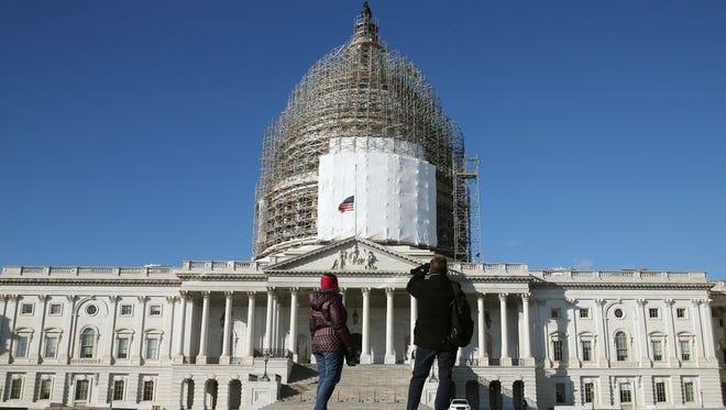 The U.S. Capitol on Jan. 5, 2015.