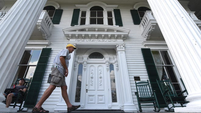 The Bellamy Mansion in downtown Wilmington has a robust accounting of how it was built with slave labor.