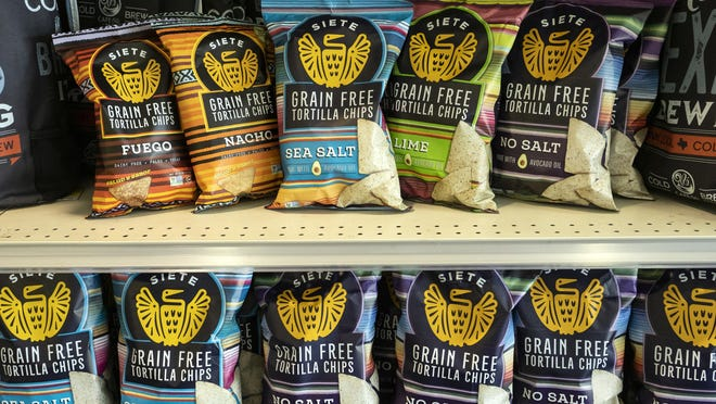 Siete Family Foods, which launched in 2014, is one of Austin's biggest food brands. You can find its grain-free chips, tortillas, sauces, seasoning packets and dips in more than 8,000 stores across the country.