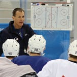 'Animal House' for USA hockey: Coaches swap stories, bring team together