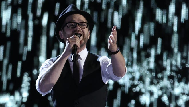 """Josh Kaufman performed Sam Smith's """"Stay With Me"""" during Monday's episode of """"The Voice."""""""