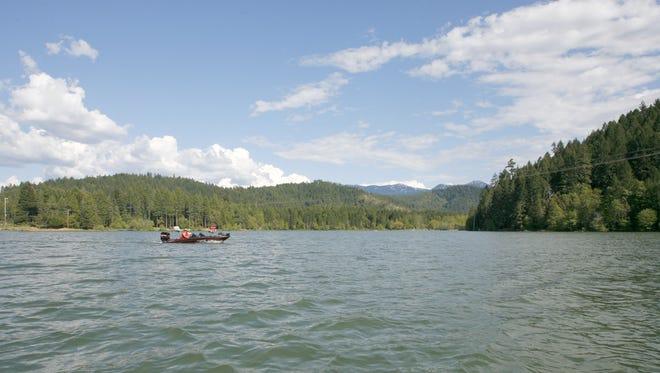 Lake Selmac.