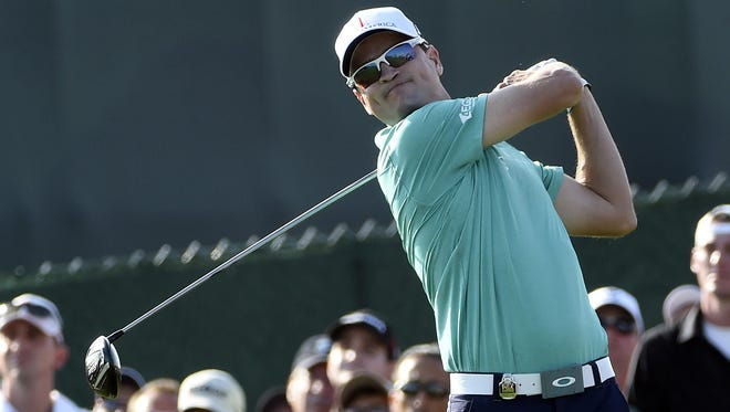 Zach Johnson's driver let him down for a second straight day at the PGA Championship.