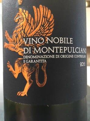 Poggio Stella Vino Nobile di Montepulciano 2011, $15: