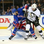 Rangers fall to Penguins 3-1 in Game 3