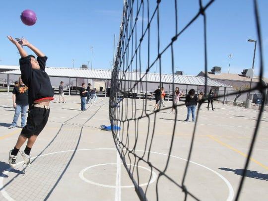 Franklin Junior High School in Mesa.