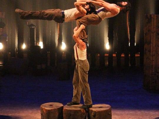 Acrobats of Cirque Alfonse: Timber! will perform at