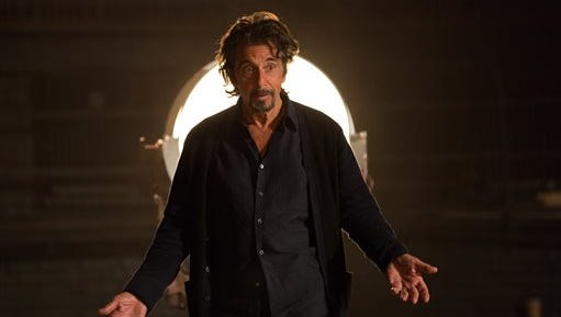"""This photo provided by courtesy of Alchemy shows Al Pacino as Simon Axler in the film, """"The Humbling."""" (AP Photo/Alchemy, Christie Mullen)"""