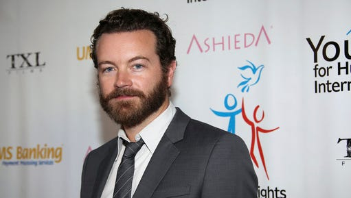 FILE - In this March 24, 2014 file photo, actor Danny Masterson arrives at Youth for Human Rights International Celebrity Benefit at Beso Hollywood in Los Angeles. Los Angeles police are investigating after three women reported being sexually assaulted by Masterson in the early 2000s, but the actor denies the allegations, which he says are motivated by the producer of an anti-Scientology television series. An LAPD spokesman confirmed the investigation Friday, March 3, 2017, but declined to provide additional details.